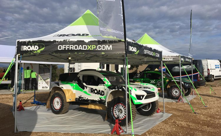 tentes pliantes hexagonales de Off Road XP